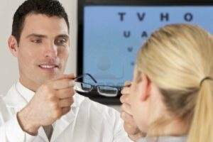4503942-a-male-optician-fitting